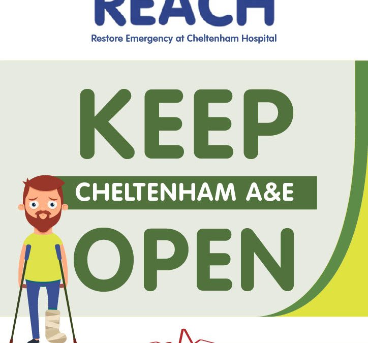 REACH launch poster for supporters to display